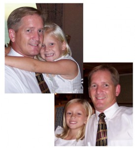 Scott with his two favorite girls, daughters Anna and Grace.